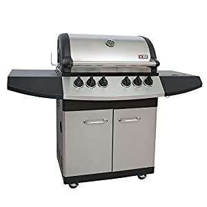 Mayer Barbecue ZUNDA Gasgrill MGG-341 Pro mit Backburner