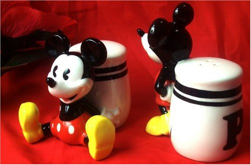 Mickey Mouse 'Pie-eyed' Salt & Pepper Shakers