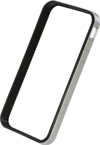 パワーサポート フラットバンパーセット for iPhone4S/4 (シルバー) PHC-65
