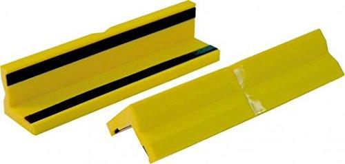 Triuso beschermbekken 125 mm kunststof met magneet premium bankschroef parallelle bankschroef spanmiddel werkbank