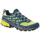 La Sportiva Akyra - Zapatillas de trail para hombre, zapatillas de trail running Hombre botas de montaña, Apple Green 47 Opal, talla única