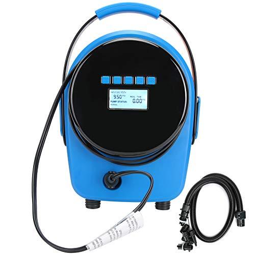 VGEBY Inflator Luftkompressor, HT - 792 20PSI Hochdruck 12V elektrische Luftpumpe Inflator Aufblasbarer Kajak Swimmingpool im Freien