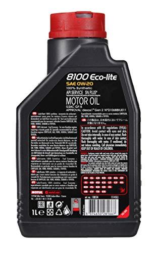 108534 - Moteur huile de graissage 8100 ECO LITE 0W20