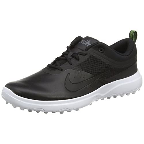 Akamai Nike-Scarpe da donna, per il golf, Nero (Black/white/pure Platinum), 38 EU