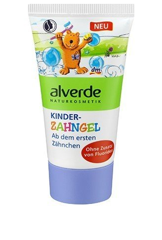 alverde NATURKOSMETIK Zahngel Kinder, 1 x 50 ml