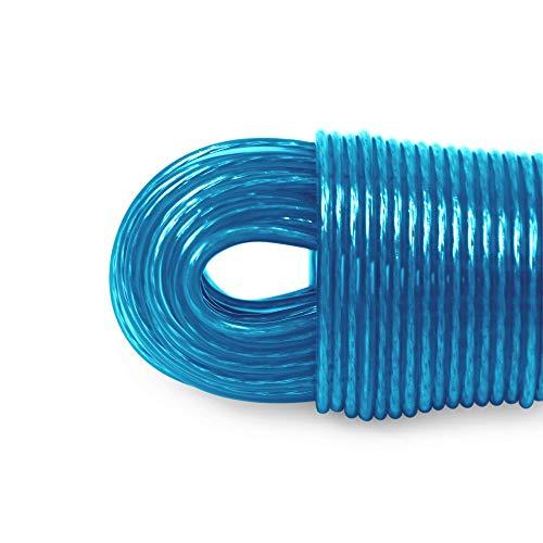 LaundrySpecialist® WÄSCHELEINE 50 Meter mit Stahlkern -– besonders solide und extra lang