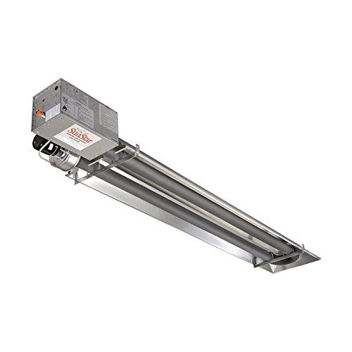 SunStar Heating Products Garage Tube Heater - NG, 25,000 BTU, Model Number SIR25-15-N