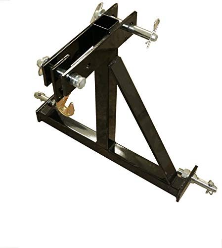 RJ Designs XHD 3 Point Log Skidder - Designed and Made in USA - Super Strength and Durability - Standard Model Without Log Chain