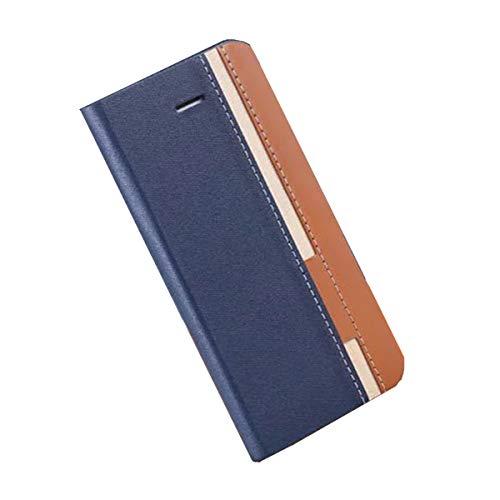 YZKJ Cover für Doogee S90 Hülle, Flip PU Ledertasche Handyhülle Magnetknopf Wallet Tasche Standfunktion Schutzhülle Hülle mit Kartenfach & Ständer für Doogee S90 (6.18