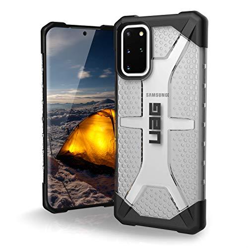 "Urban Armor Gear Plasma Samsung Galaxy S20 Plus (6.7"") Coque Housse Etui (Antichoc, Compatible avec L'induction, Ultra Protection Bumper, Anti Rayure) - Transparente"