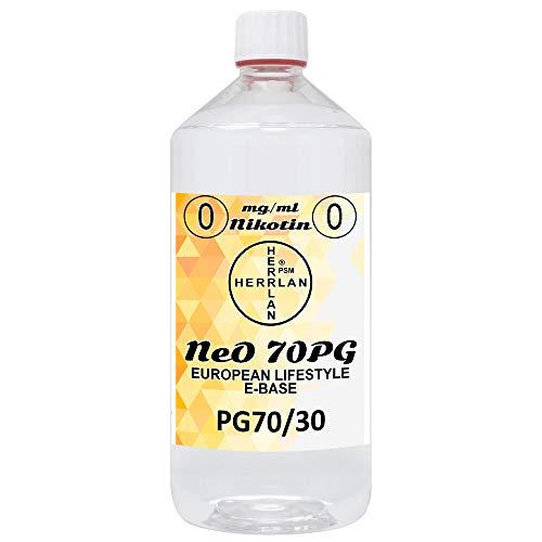 E-Base NeO 70PG - PG70/30 I 1000 ml I Ohne Nikotin I Herrlan - Made in Germany