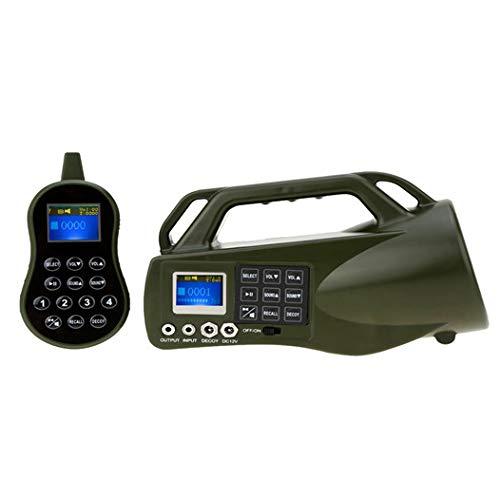 CATMAXMP3 Game Caller Fox Decoy Dispositivo di richiamo di Caccia Mp3 con Telecomando Chiamate Predator CP-550 500m