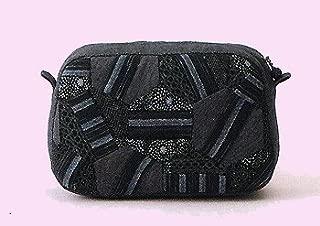 オリムパス製絲 パッチワークキット 和柄 六角つなぎのポーチ (墨) PA467