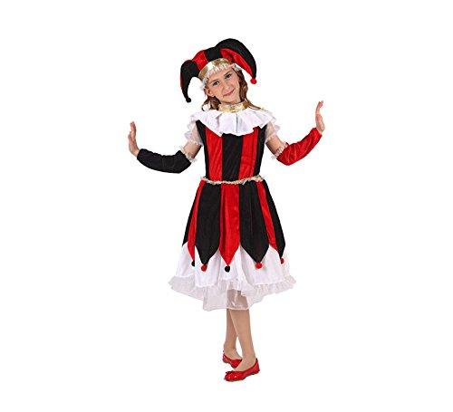 Disfraz de Arlequín para niñas de 3 a 4 años