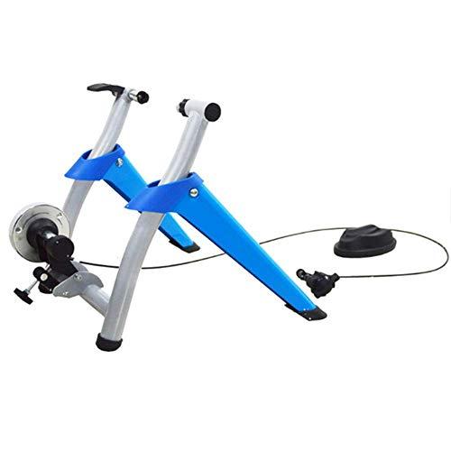 Axjzh Vélo Turbo Trainer, Frein magnétique Home Trainer Smart Bike d'intérieur et Home Trainer pour vélos de Route et de Montagne- A