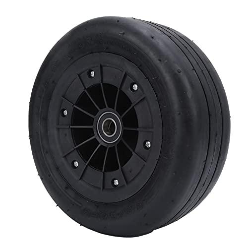 Neumático De Repuesto para Kart, Neumático Delantero De Goma para Karting Que Evita Que Los Neumáticos Estallen Diseño De Superficie De Muesca para Karting