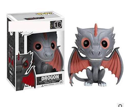 Juego de tronos Melisandre Jon Snow Daenerys Targaryen Drogon Ghost Tyrion Lannister figuras de vinilo juguetes para niños-con caja 16