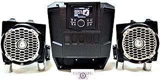 2013-2019 Polaris Ranger XP 570/900 / 1000 Dash Mounted Audio Radio Kit - Rockford Fosgate (PMX-2 Receiver)