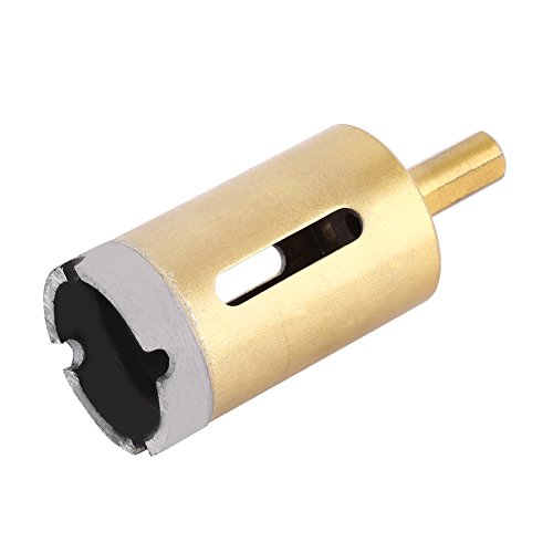 Yosoo Werkzeug Bohrung Loch im Diamant-Spiralbohrer Sägeblatt, Beton Marmor Stein Keramik Werkzeug Schnitt Segmenthöhe Lochsäge, 35 mm