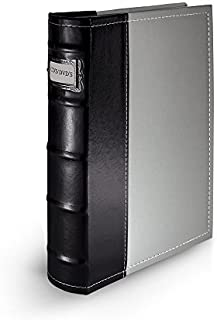 DVD Storage Binder, Gray- CD/DVD Case Stores Up to 48 DVDs, CDs, or Blu-Rays - DVD Holder Sheets Store Cover Art - Acid-Fr...