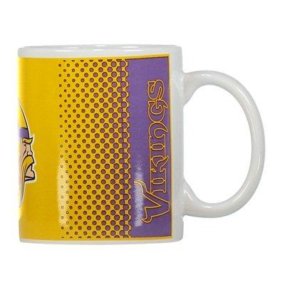 Forever Collectibles NFL Football Minnesota Vikings Mug Kaffeetasse Tasse Fade
