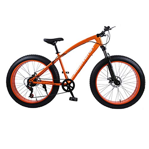 LICHONGUI 26 Inches Beach Snow Trail Runner Mountain Bicycle Cross-country Double Shock Absorption System Mountain Bike Wide Tires Variety of Specifications (Size : 27 speed)