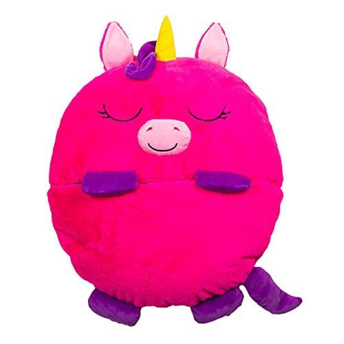 Dormi Locos Unicornio, Color Rosa, 167cm x 76cm (Concentra 506101)