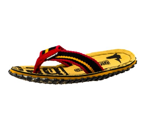 Beachers - BEACHERS - Zehentrenner / Sandale - gelb / rot (38)