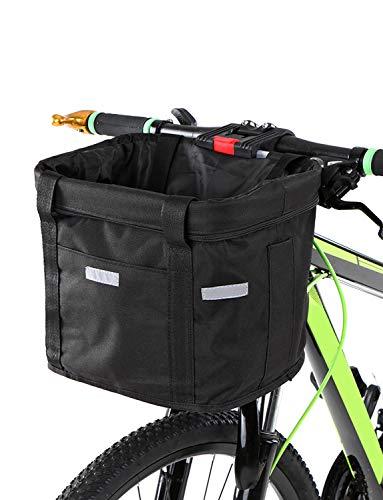 Kecheer fietsmand vooraan afneembaar waterdicht fietsstuur mand Pet Carrier Frame Bag, 34 x 24 x 24,5 cm