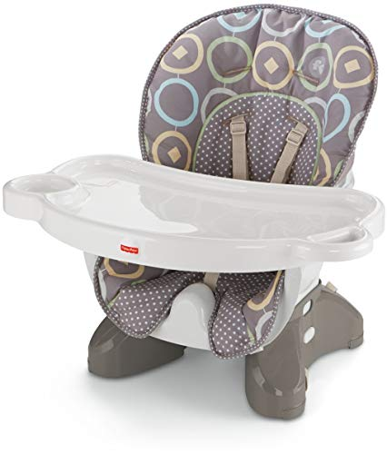 Image of Fisher-Price SpaceSaver High Chair, Luminosity [Amazon Exclusive]