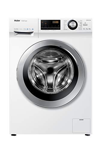 Haier HW80-BP16636 Waschmaschine Frontlader / 8 kg / 1600 U/Min. / 118 kWh/Jahr / Inverter Motor / ABT / Vollwasserschutz