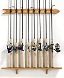 Old Cedar Outfitters Modular Wall Rack for Fishing Rod...