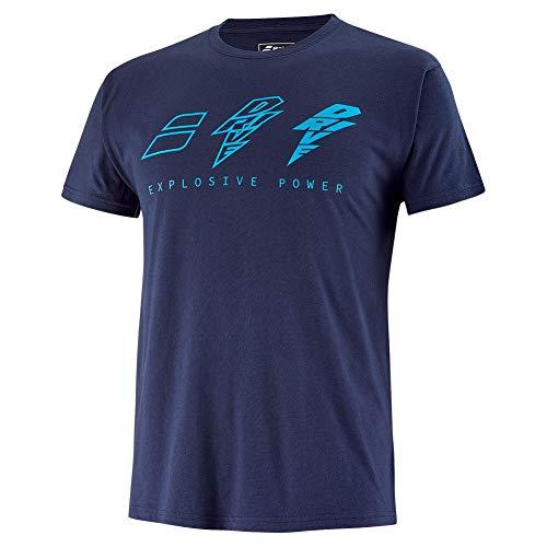 Babolat Camiseta Drive Azul Marino