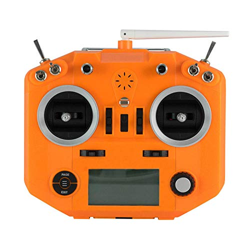 MITUHAKI Transmitter Silicone Case Cover Shell Spare Part for ACCST Taranis Q X7 X7S - (Orange)1 x Transmitter Silicone Case - RC Toys & Hobbies Radios & Receiver