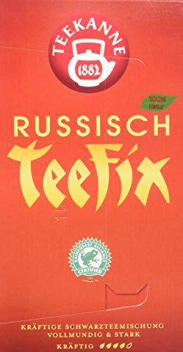 Teekanne Russisch Teefix Schwarztee 20 Beutel (1 x 40 g)