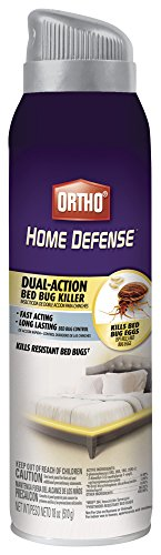 Ortho Home Defense Dual-Action Bed Bug Killer Aerosol, 18 oz.