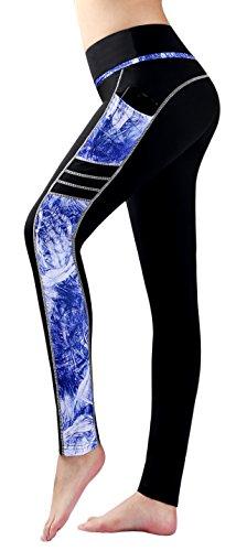 Munvot Femme Pantalon de Sport Collants Fitness Jogging Maigre 62/XS