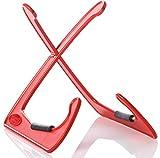 Bespeco XANADUR - Soporte para guitarra, color rojo