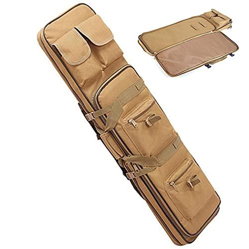JINGJIN Fundas para escopetas de Caza   Funda para Escopeta  Rifle Bolsa  Funda para Rifle de Caza  Airsoft Caza Pistola Funda   Bolsa para Rifle Funda para Armas  Pistola Bolsa,Yellow-850mm/33.5inch ⭐