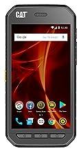 CAT PHONES S41 Rugged Dual-SIM Smartphone (5 Zoll (12,7 cm) FHD-Display, 32 GB interner Speicher (erweiterbar auf 128GB), Android Nougat, 5000 mAh Akku, Staub-und wasserdicht) schiefergrau©Amazon