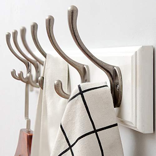 ZXL Kledingrek Q creatieve kledinghanger, wandbehang slaapkamer woonkamer kledinghanger retro haak ophangsysteem wandbehang bamboe kledinghanger lengte 48-100 cm haak (grootte: 1,8 * 8 * 74 cm)