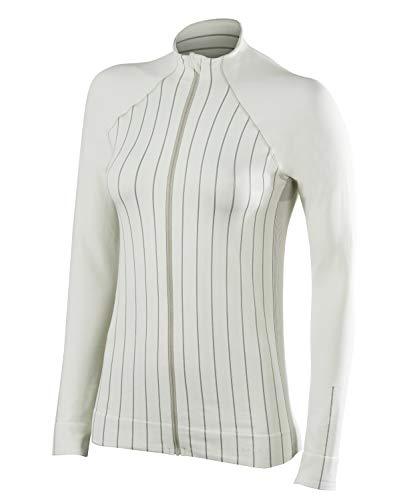 FALKE Damen Full Zip Pullover Langarmshirt - Funktionsfaser, 1 Stück, Versch. Farben, Größe XS-XL - Schnellste Rücktrocknung, Wärmende Wirkung