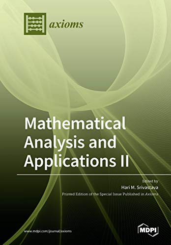 Mathematical Analysis and Applications II