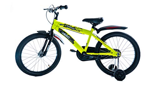 HERO CYCLES LTD Super Hero 20T 20 T Recreation Cycle for Boys (Age 5 yrs to 10 yrs, 12-inch)