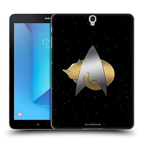 Head Case Designs Oficial Star Trek Logotipo Delta Gatos TNG Carcasa rígida Compatible con Samsung Galaxy Tab S3 9.7