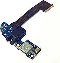 ePartSolution_Micro USB Charger Charging Port Flex Cable Dock Connector with Headphone Audio Jack USB Port for HTC One M8 831C Replacement Part USA