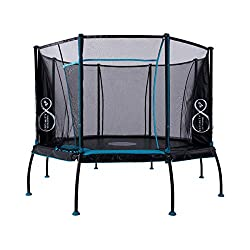 The TP Toys Infinity 12ft Octagonal Trampoline is packed with great patent protected design features The unique octagonal shape and the premium springs deliver an outstanding vertical bounce across th TP Toys Infinity 12ft octagonal trampoline featur...