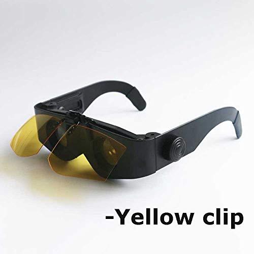 QWET gepolariseerde vissen zonnebril (4 kleuren opties: zwart/grijs/geel/rood) gratis harde behuizing 100% UV-zonbescherming. Geweldig viscadeau