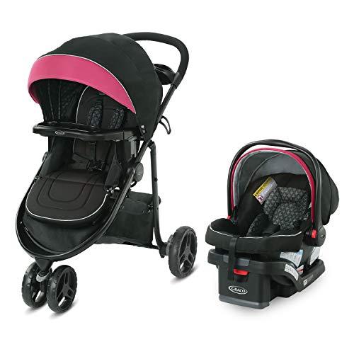 Graco Modes 3 Lite DLX Travel System   Includes Modes 3 Lite DLX Stroller and SnugRide SnugLock 30 Infant Car Seat, Arbis