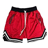 Pantalones Cortos Deportivos De Malla Fina De Verano para Hombre Entrenamiento De Baloncesto Entrenamiento Transpirable Fitness Pantalones De Cinco Puntos